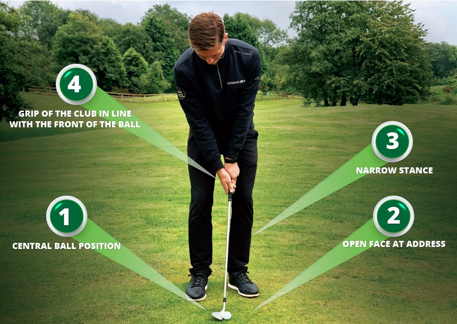 3 STEPS TO A SHARP SHORT GAME